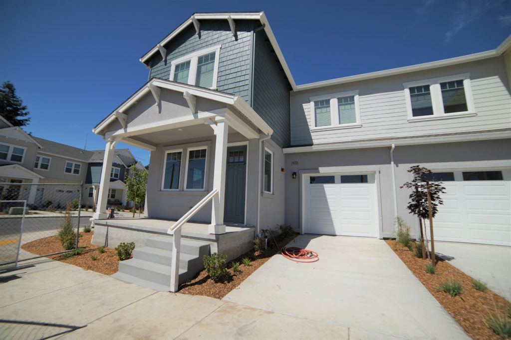 Blue and Gray Townhouse 2059 Medano Dr for rent in Santa Rosa CA